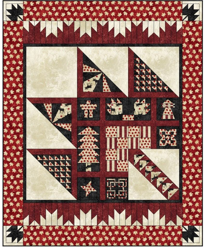 Purely Canadian Quilt Pattern