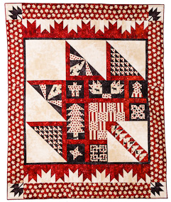Pattern Feature – Purely Canadian Quilt