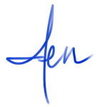 Jen Transparent Signature