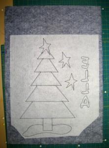 making a fabric bag box bottom
