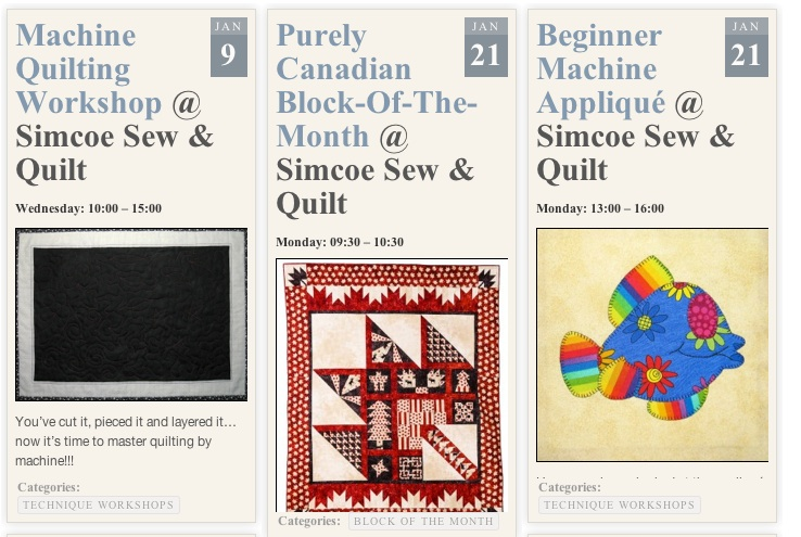 Workshop Calendar Updated Quilts By Jen