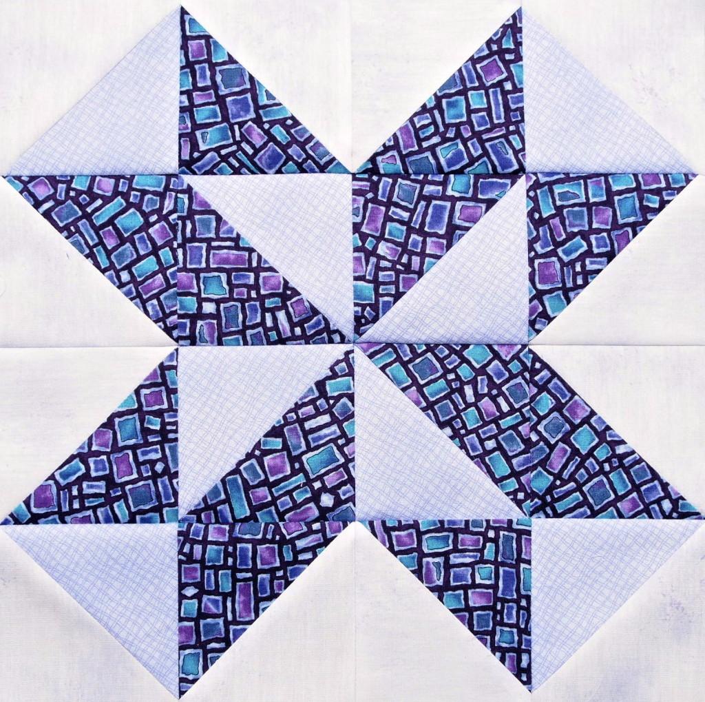 Star Puzzle Quilt Block