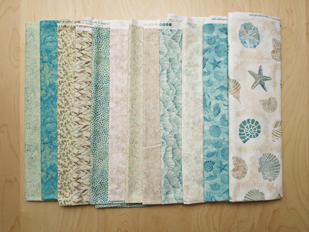 A closer look at the fabrics