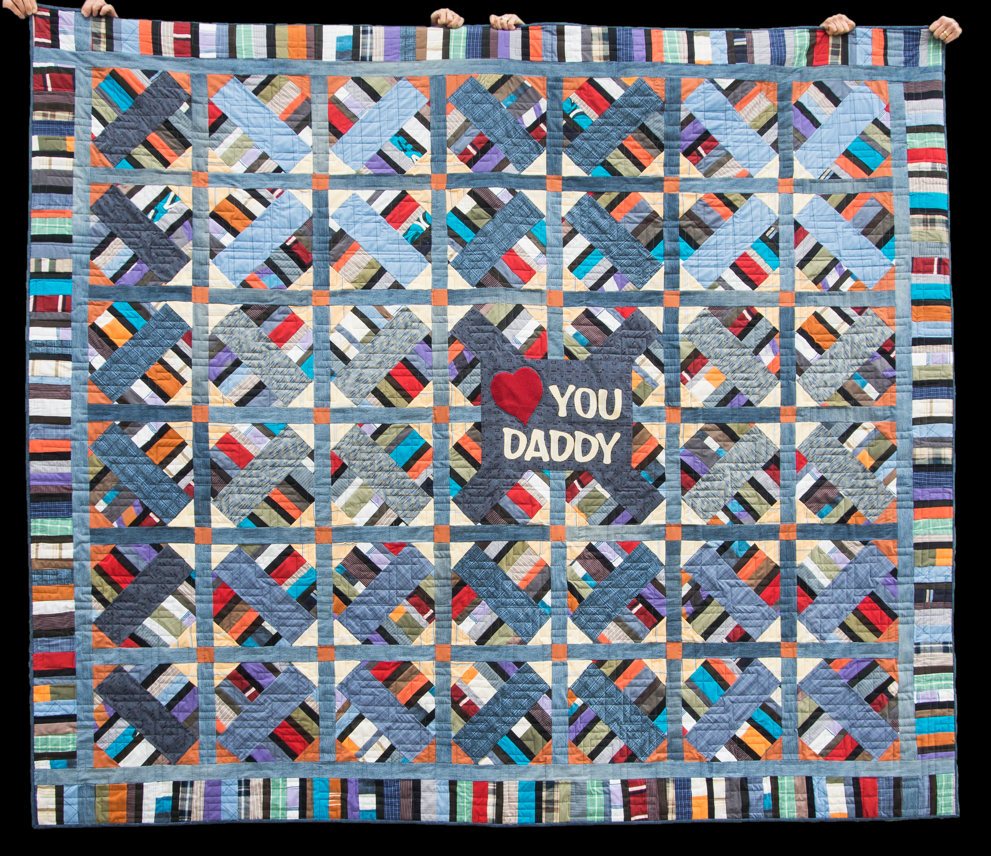 A Memory Quilt Made of Clothes | Quilts By Jen : sew and quilt barrie - Adamdwight.com