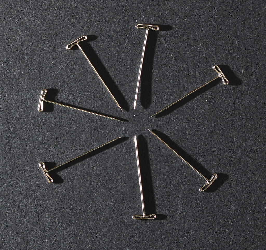 T pins