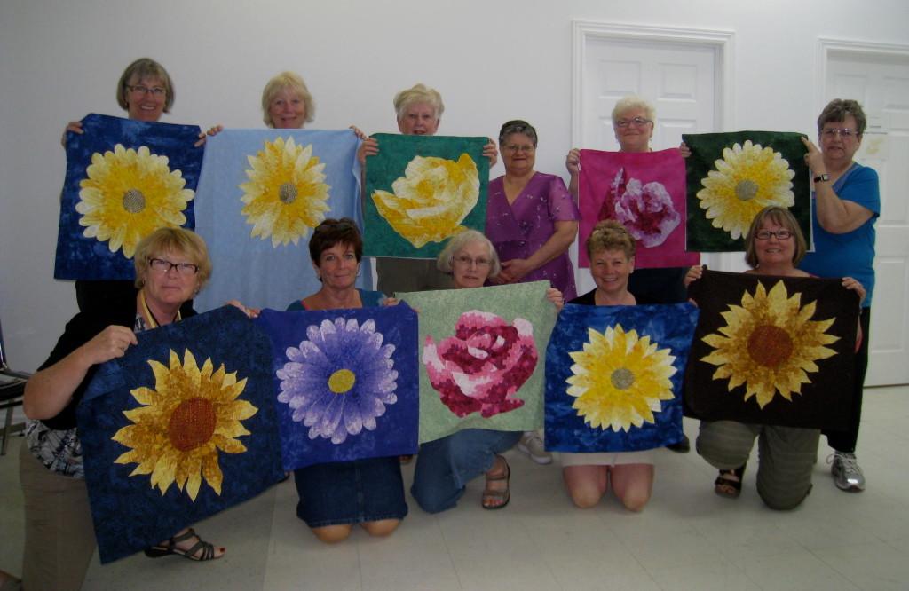 Bargello Flower Class