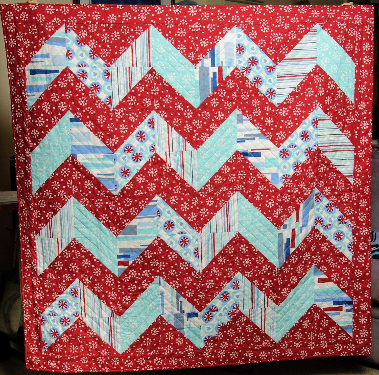 Zigzag Baby Quilt