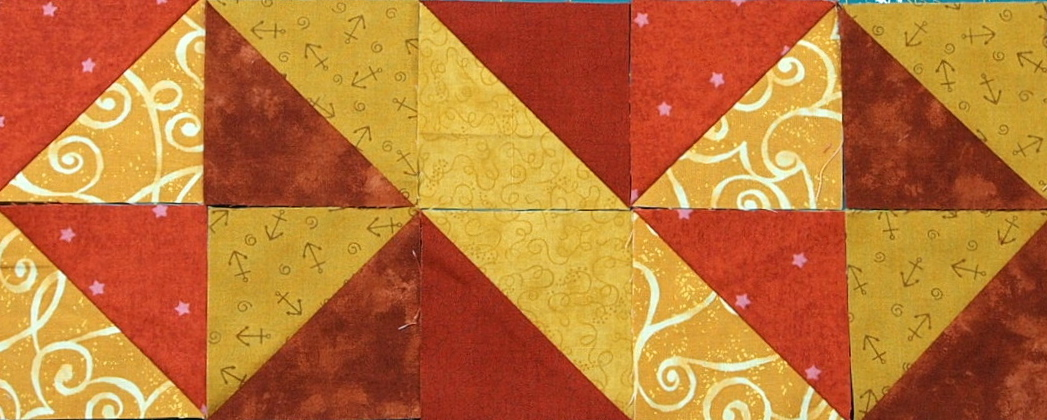 10 Border Designs Made With Half Square Triangles Part 2