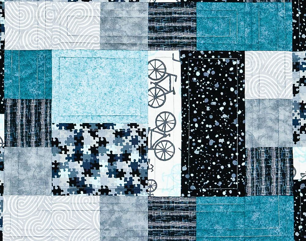 Rectangles And Squares A Beginner Patchwork Quilt