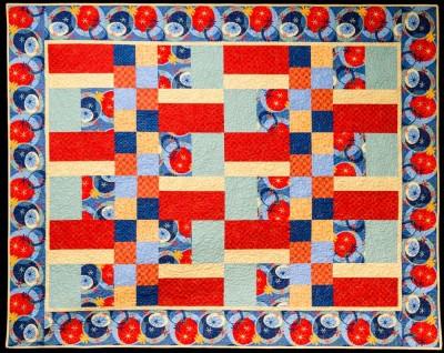 A beginner patchwork quilt pattern