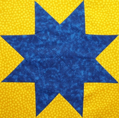 an eight pointed star