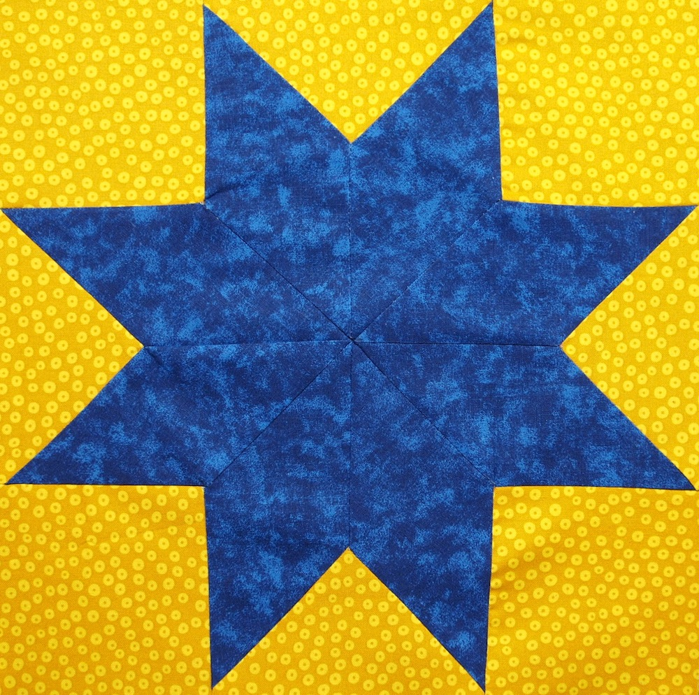 How To Make An Eight Pointed Star Quilts By Jen