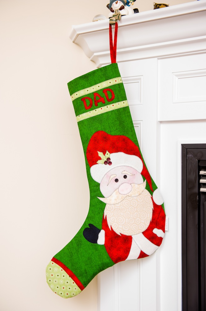 Jumbo Stocking Anyone | Quilts By Jen