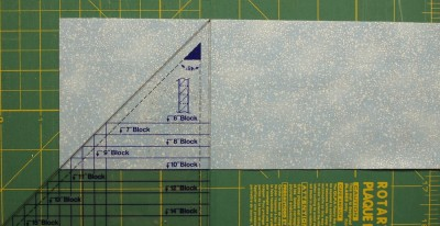 cut a square with the ruler