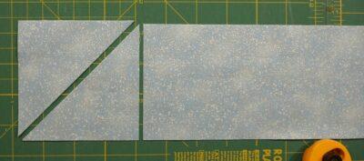 cut 4 corner triangles