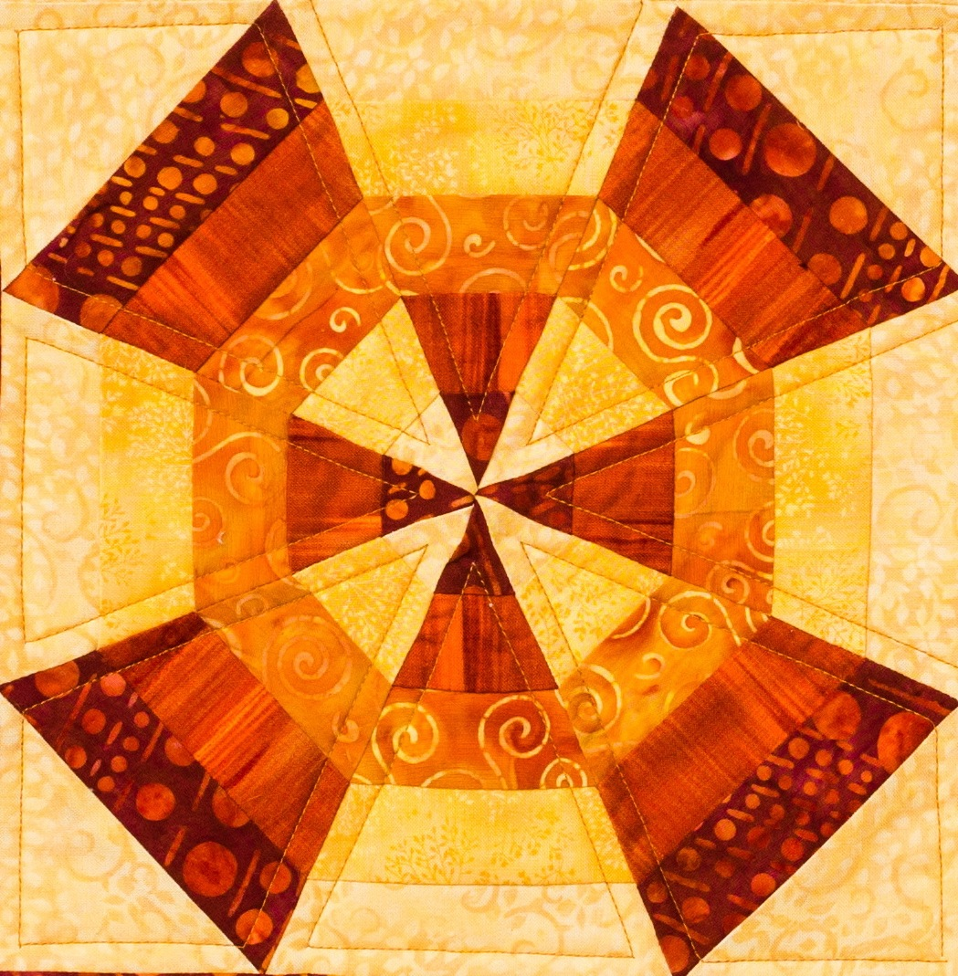 Spider Web Kaleidoscope Quilt Quilts By Jen