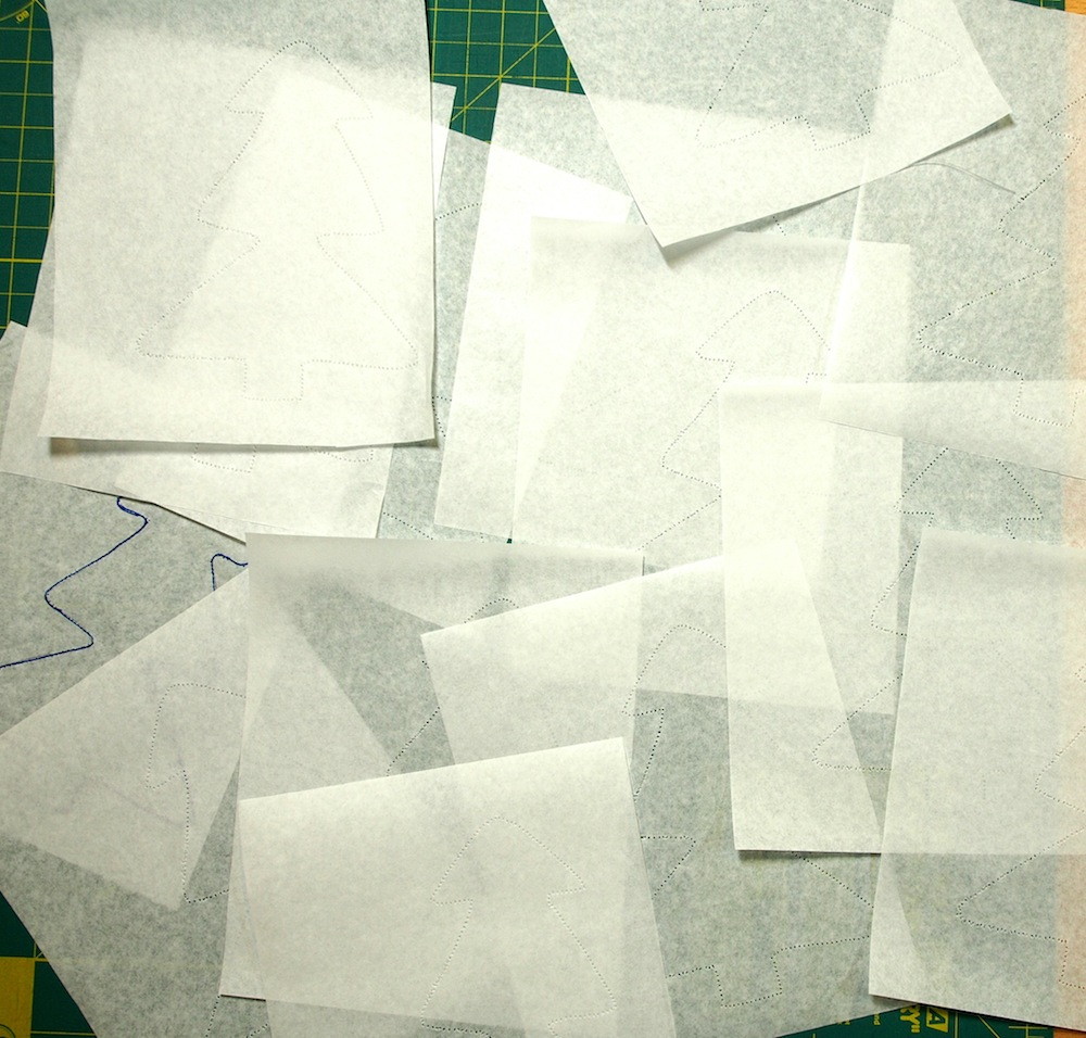 How to Make A Tissue Paper Template For Quilting | Quilts By Jen : paper templates for quilting - Adamdwight.com