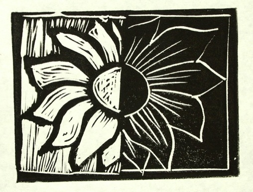 Relief Printing With Lino Blocks & Water Soluble Inks – What Fun!