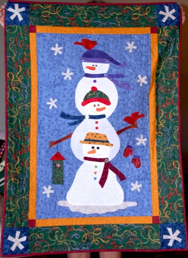 Snowman Wall Hanging Quilt Patterns Quilt Pattern