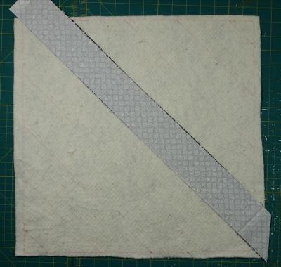 White strip on top of black strip