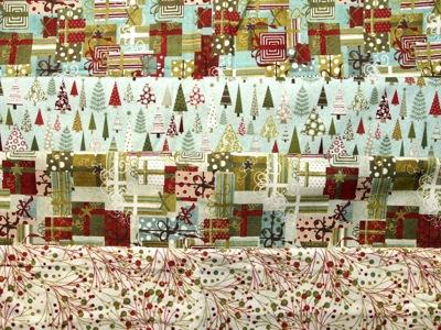 4 different fabrics