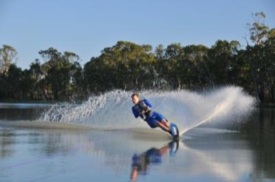 single ski water-skier