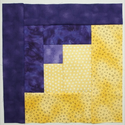 Sew piece I to unit from step 7