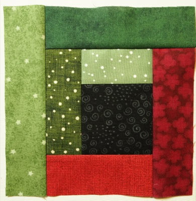 How To Make The Basic Log Cabin Quilt Block | Quilts By Jen : log cabin quilt square - Adamdwight.com