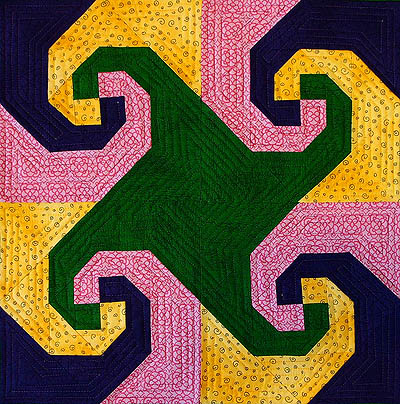 Snails Trail A Tetradic Colour Scheme Quilts By Jen