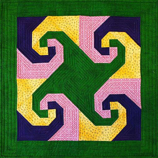Snail's Trail – A Tetradic Colour Scheme