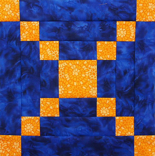 Variation On The Courthouse Steps Block Quilts By Jen