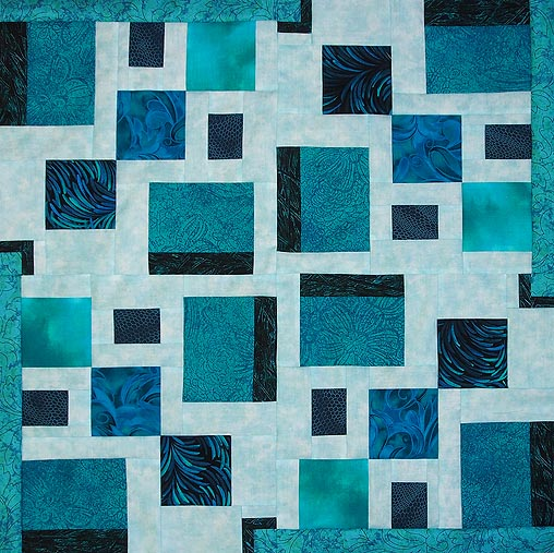 Square Dance Modern Quilt Pattern Download Quilts By Jen