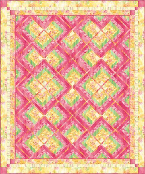 Monet's Garden Quilt Pattern