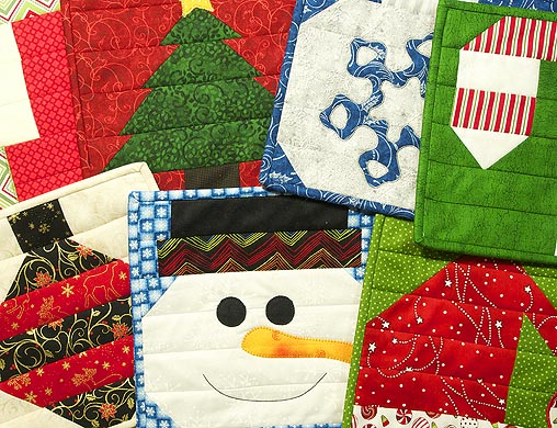 Insulated Batting Is Perfect For Creating Christmas Trivets