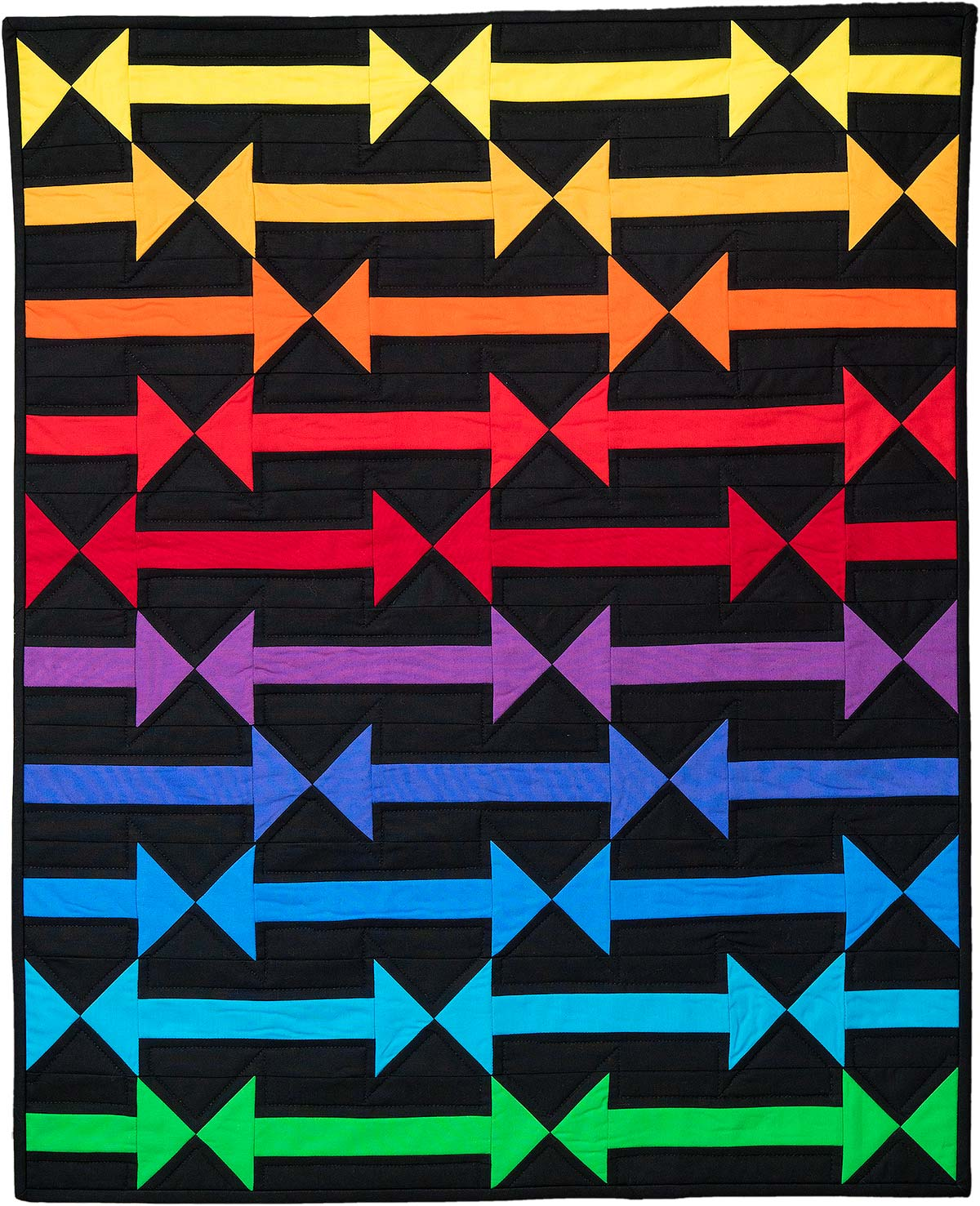 Follow The Arrow Quilt Download Pattern Quilts By Jen