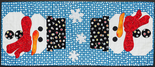Snowman Table Runner Quilt Pattern Quilts By Jen