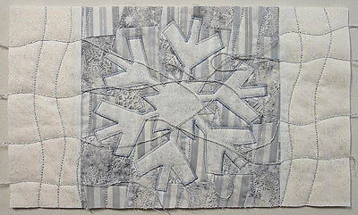 Extra quilting lines added to borders