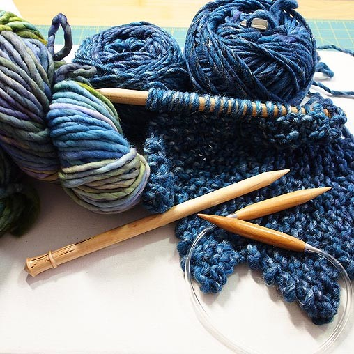 Knitting Therapy With The Moonbeam Shrug