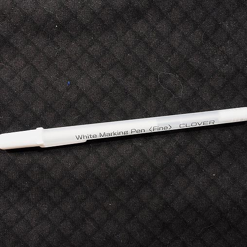 The Clover White Marking Pen – A Review