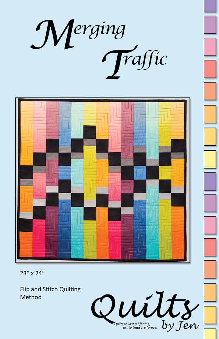 Merging Traffic Quilt Pattern Quilts By Jen