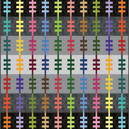 pattern design called Railroad Tracks