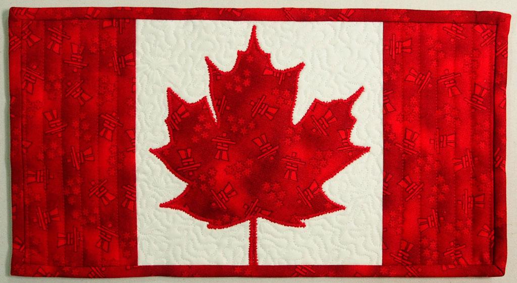 Oh Canada! The Mug Rug – Mug Rug #26