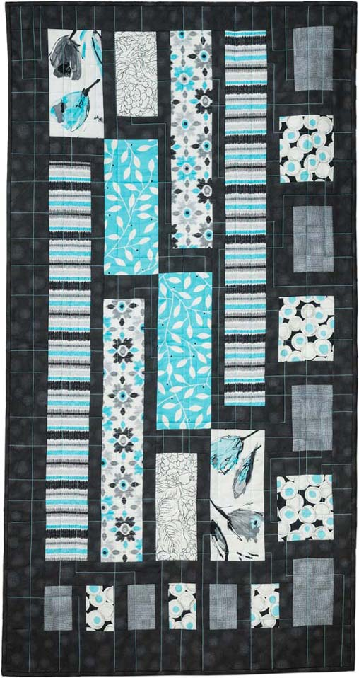 Geometric Forest Modern Quilt Pattern Download Quilts By Jen