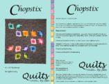 Chopstix Modern Quilt Pattern Cover