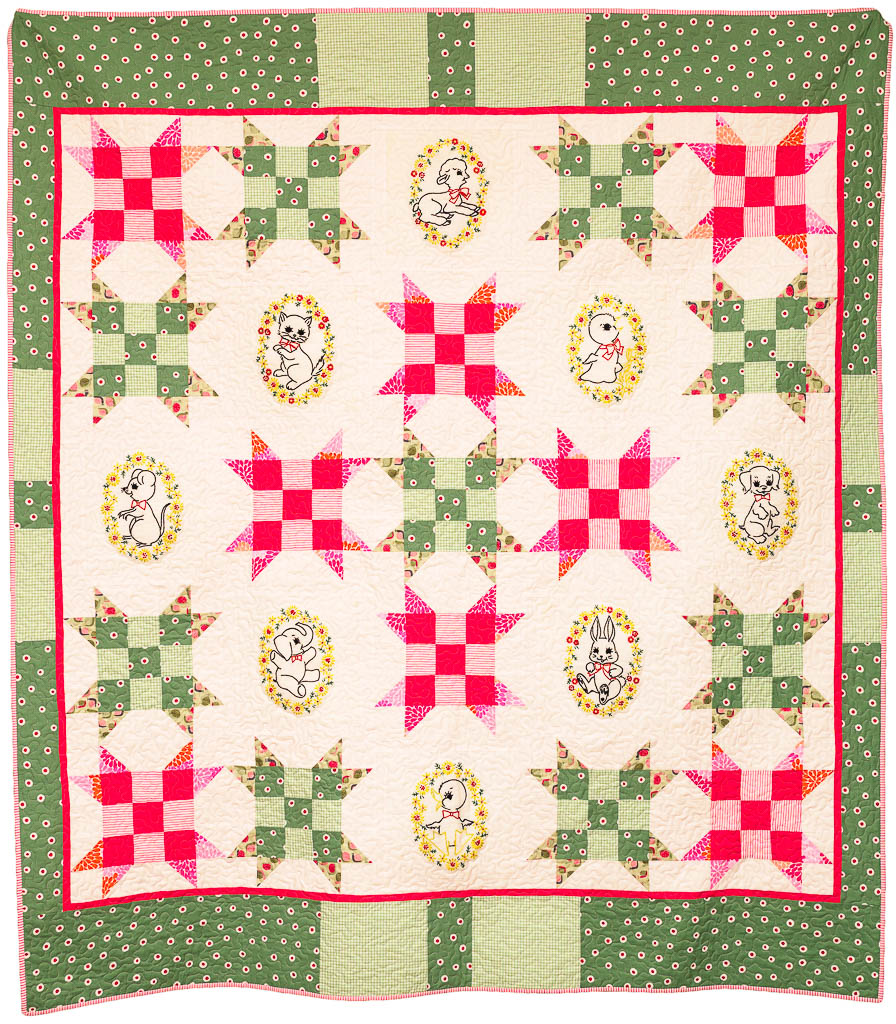 Custom Quilt From Embroidery Blocks